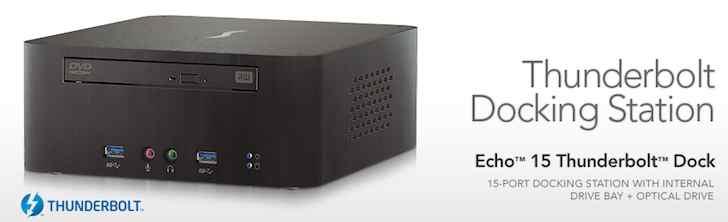 Sonnet anuncia un nuevo Thunderbolt Dock con unidad Blu-Ray