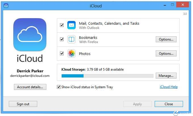 Apple lanza iCloud Control Panel 3.0