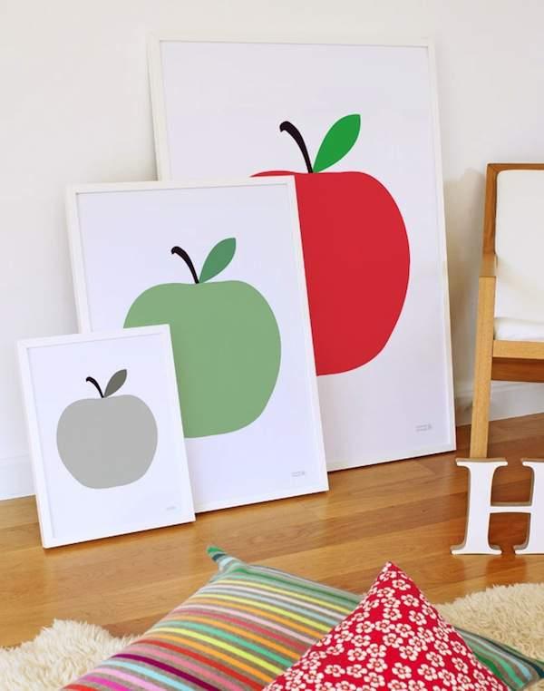 Apple cuadros