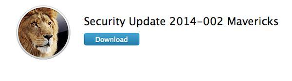SecurityUpdate Mavericks