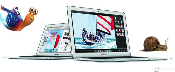 MacBook Air mediados 2014 tiene un SSD más lento que Macbook Air 2013