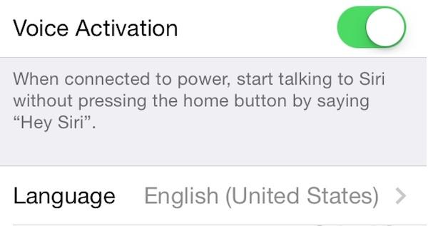 iOS 8 incluye el tweak de Cydia OkSiri, Hey Siri