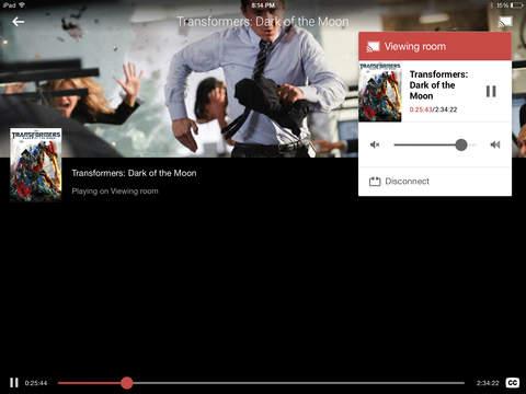 Google Play Peliculas iPad
