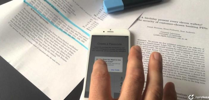 iphone  touch id hack apple pay