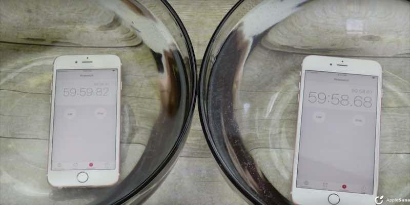 iPhone 6s y iPhone 6s Plus son sumergibles, perfectos para filmar bajo agua