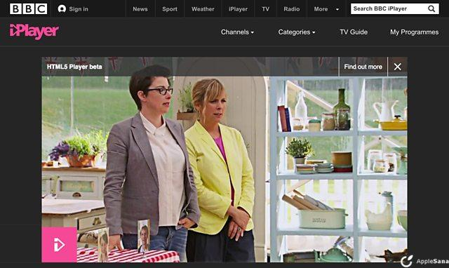 BBC iPlayer dice adiós a Adobe Flash en favor de HTML5