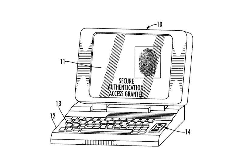 patente apple Touch ID macbook