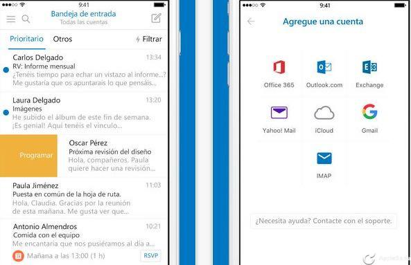 Microsoft Outlook para iOS