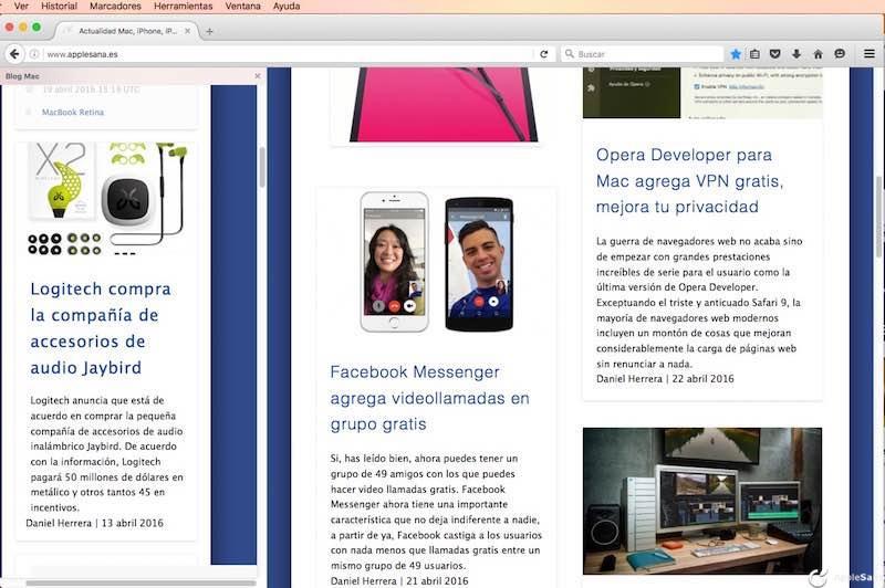 Así puedes cargar páginas web en la barra lateral de FireFox, el Split View universal