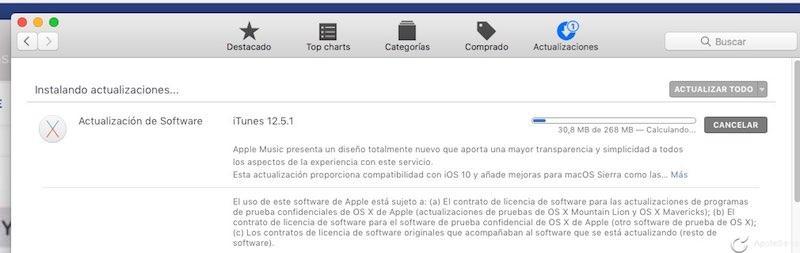 El nuevo e increíble iTunes 12.5.1 viene con novedades en Apple Music
