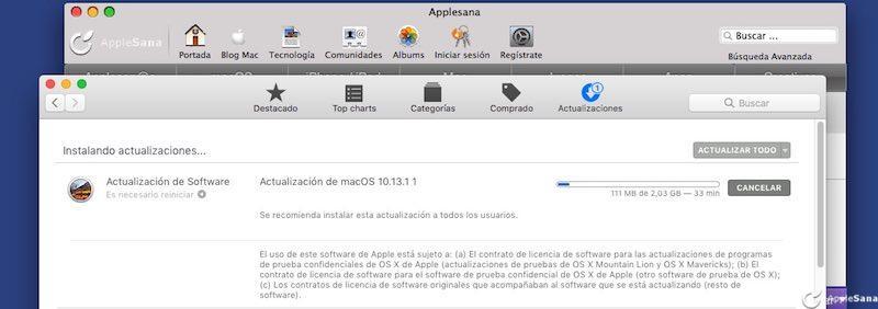 Ya puedes instalar macOS High Sierra, 10.13.1 promete ser seguro